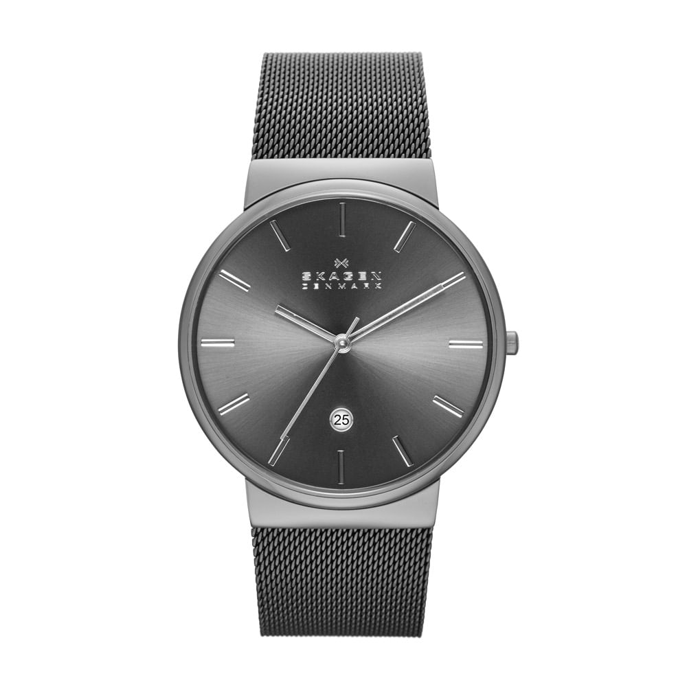a1a678a57bb55 Relógio Masculino Skagen Ancher Prata - SKW6108 8PN - timecenter