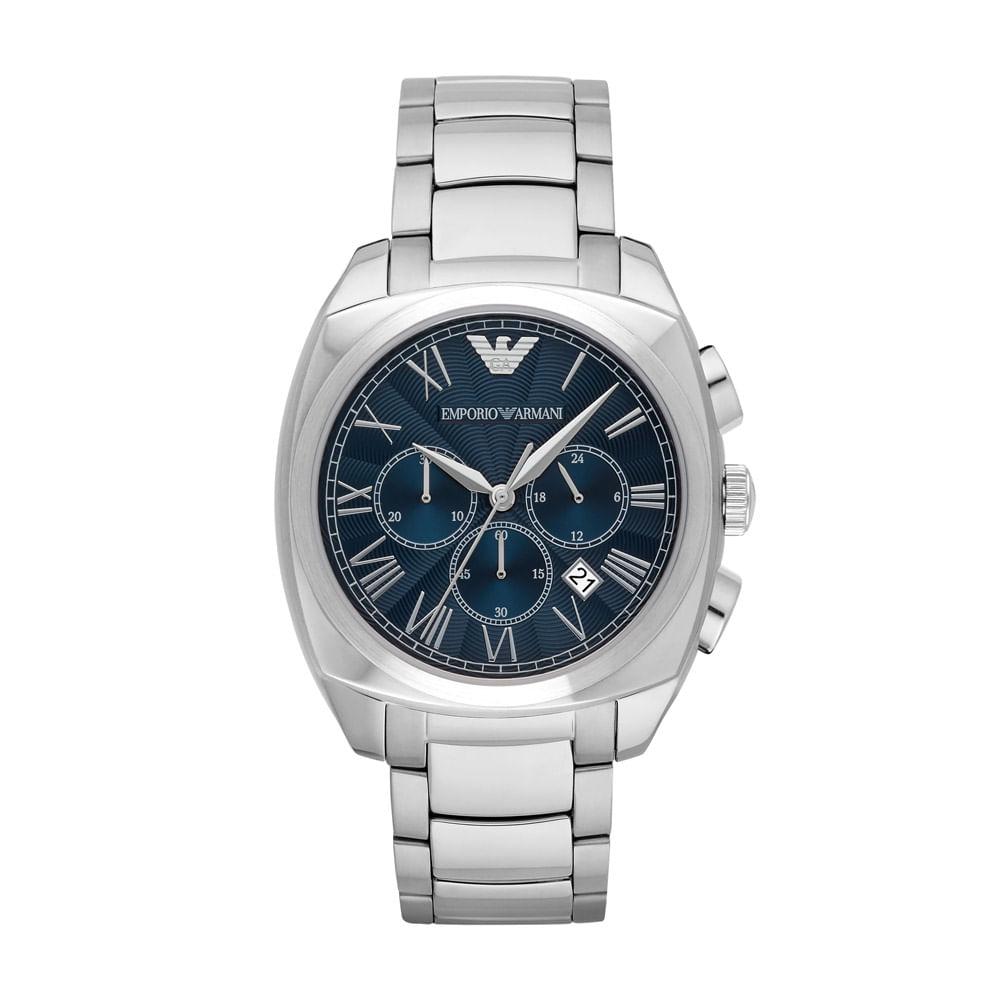 fb086412f21 Relógio Masculino Emporio Armani Gamma Prata - AR1938 1AN - timecenter