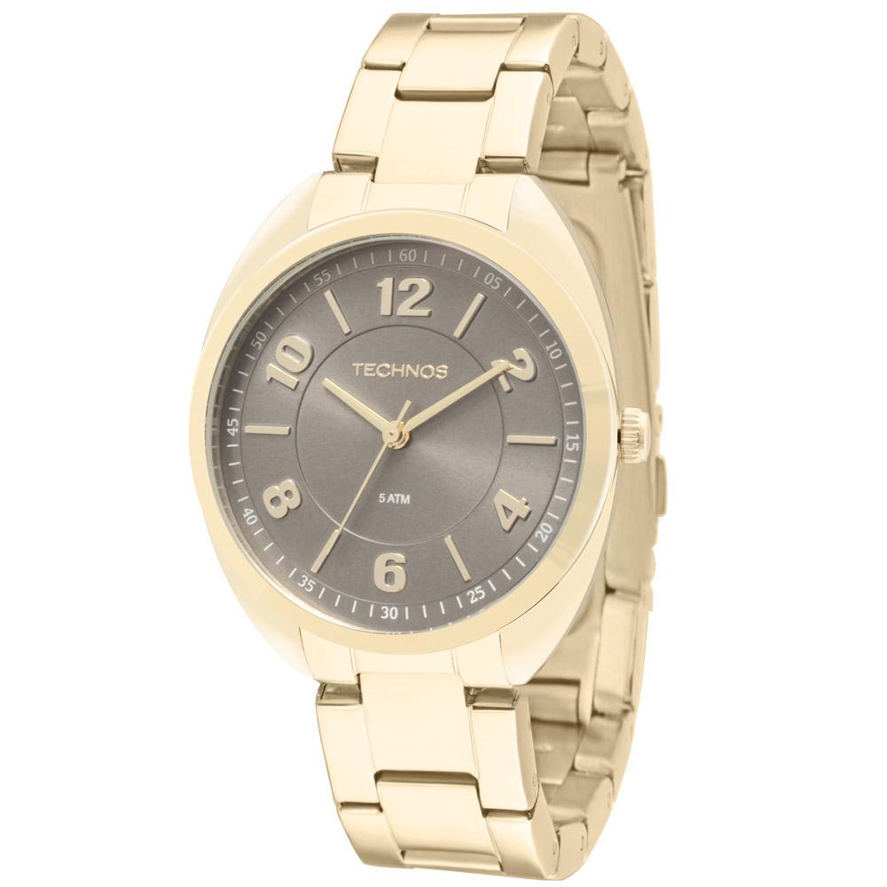 988d768690f4b Relógio Technos Dress Dourado - 2035MCF 4C - timecenter