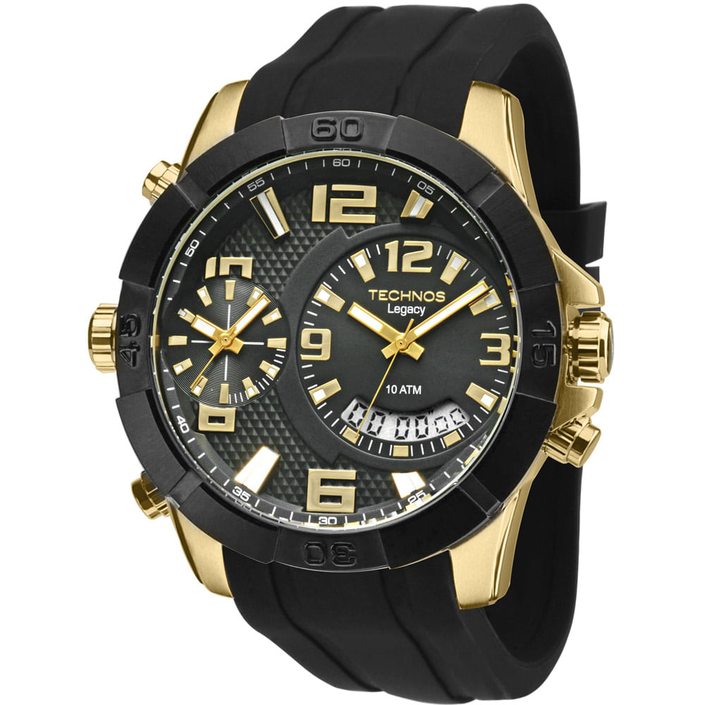 3fda87e9cf3 Relógio Technos Legacy Dourado - T205FJ 8P - timecenter
