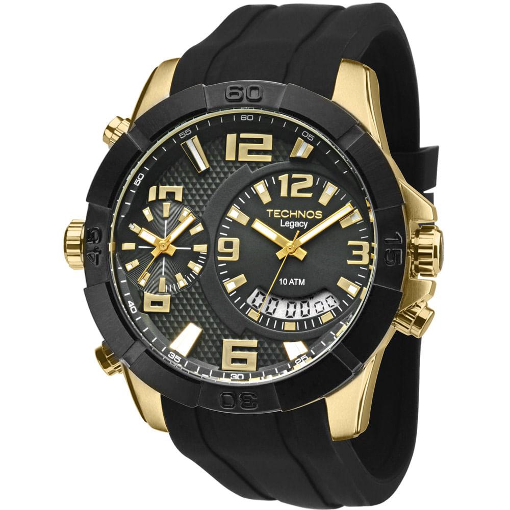 b732fcea7d0 Relógio Technos Legacy Dourado - T205FJ 8P - timecenter