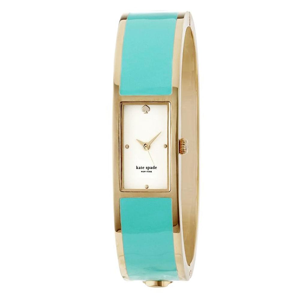 56463be42f99a Relógio Kate Spade Feminino Carousel Dourado - 1YRU0051 I - timecenter