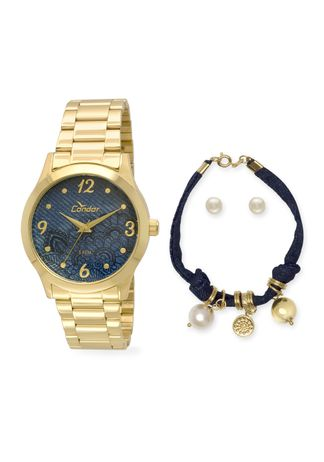 Kit-Relogio-Condor-Fashion-Dourado---CO2039AC-K4A