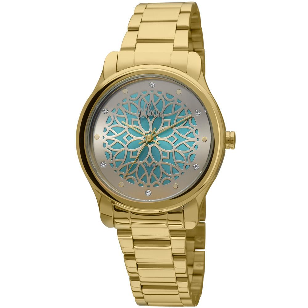 a5c366ee8e0 Relógio Allora Segredos do oriente Dourado - AL2035FCI 4V - timecenter