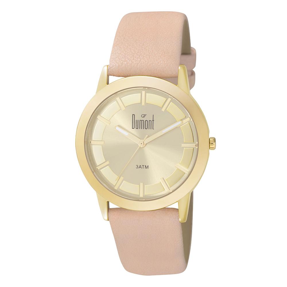 c2d5d6e02c9 Relógio Dumont Feminino London DU2035LPL K2X Rose - timecenter