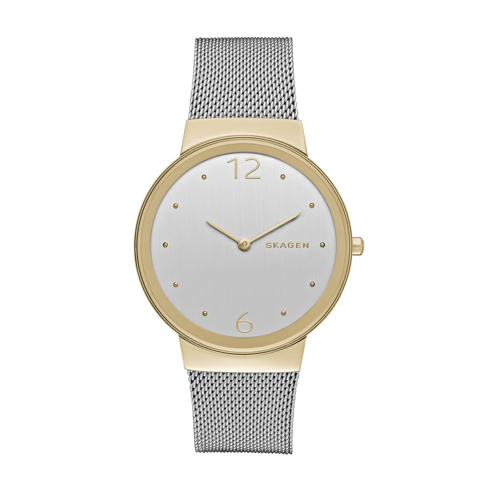 db67cda5bbee2 Relógio Skagen Freja Dourado - SKW2381 1KN - timecenter