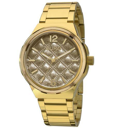 9ab0255e622 Relógio Euro Feminino Coleção Esmaltados EU2035YEI 5A - Dourado ...
