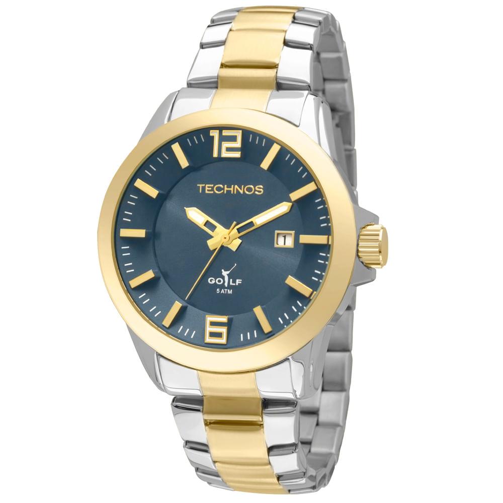 Relógio Technos Masculino Golf - 2115KRN 5A - Tempo de Black Friday 310a3e5842