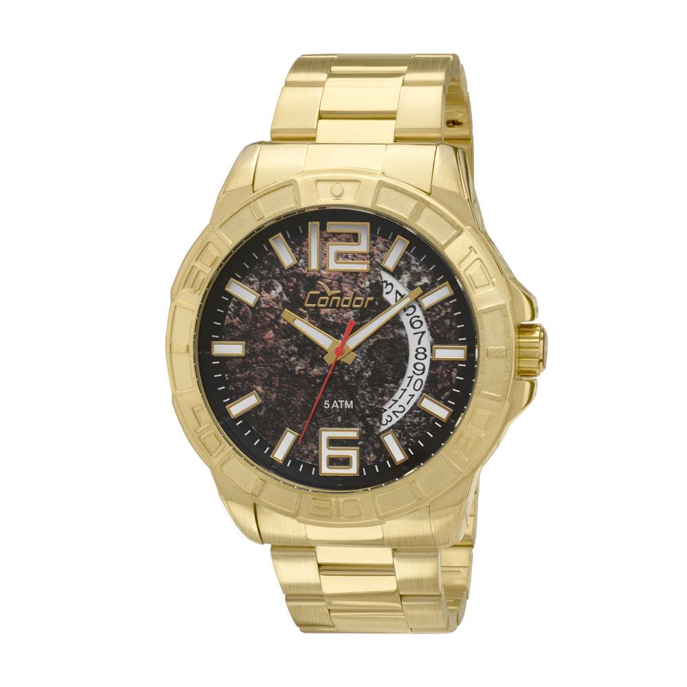 905e1f14258 Relógio Condor Coleção Urbano CO2415AP 4P - Dourado - timecenter