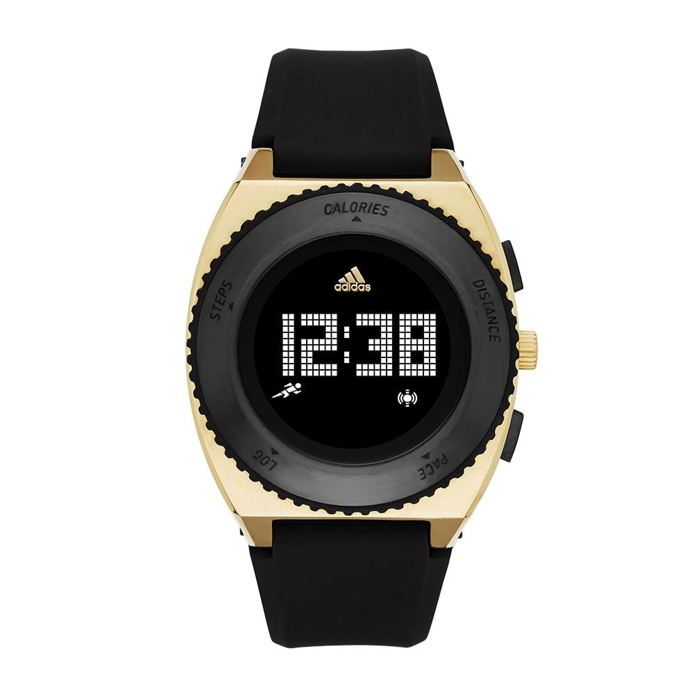 02f5a7a2509 Relógio Adidas Performance Masculino Urban Runner Preto - ADP3190 ...