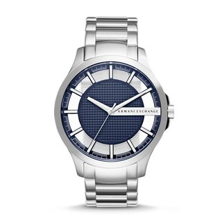 b70fc622ddf Relógio Armani Exchange Masculino Hampton Prata - AX2178 1AN