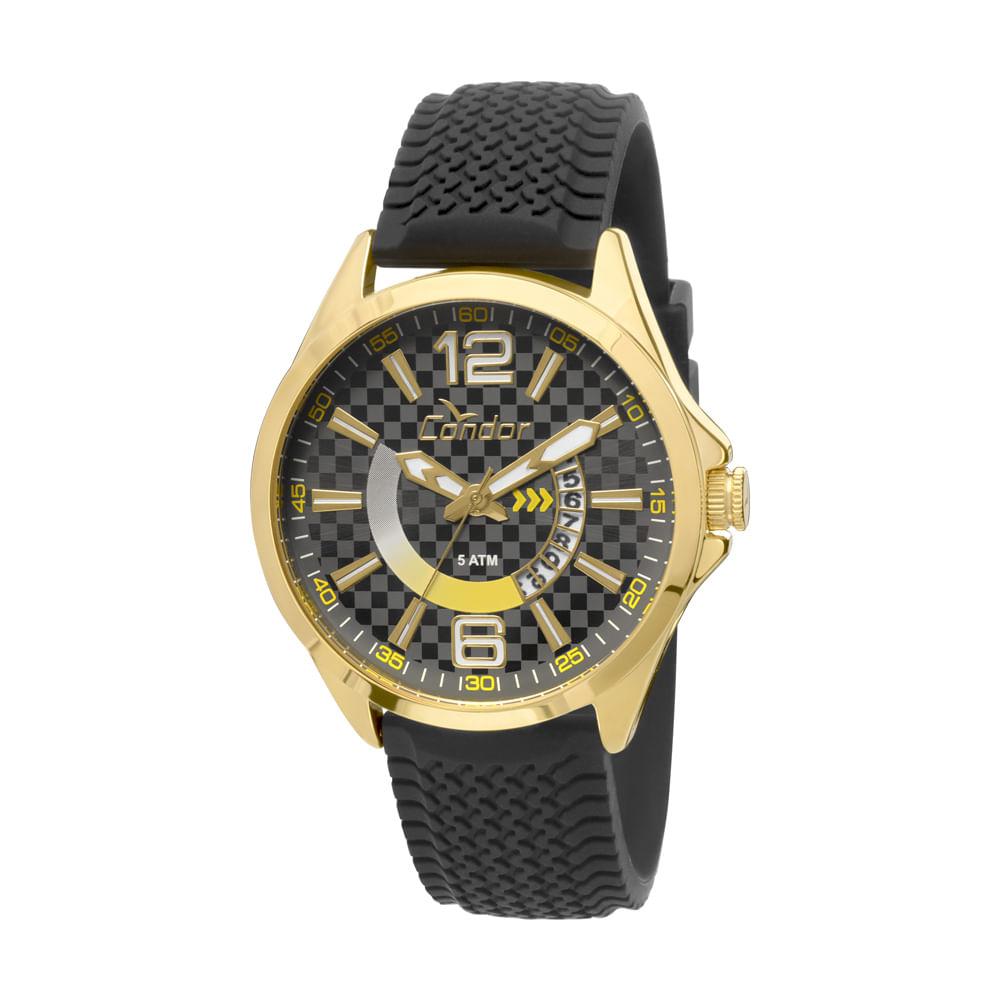 4b419f9b6fc Relógio Condor Coleção Speed CO2115VI 8P - Preto