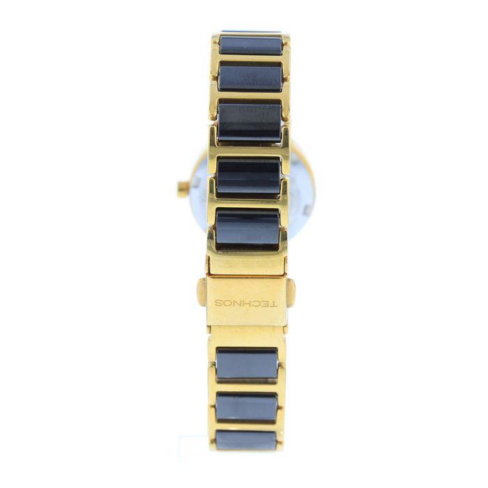 Relógio Technos Feminino Analógico Preto e Dourado 2035LWF 4P - technos 66549b65a4
