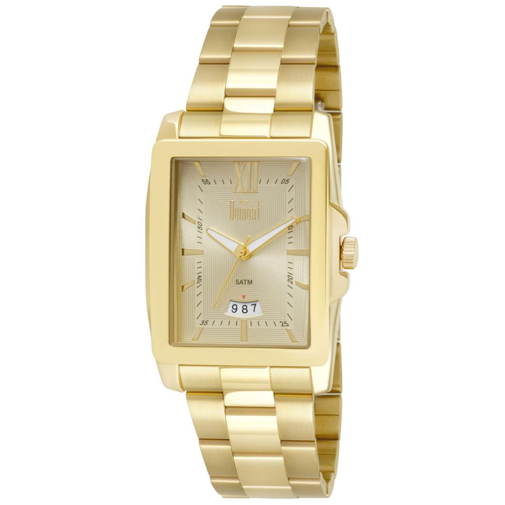 9895755253ae8 Relógio Dumont Berlim Masculino DUGM10AE 2D Dourado - timecenter