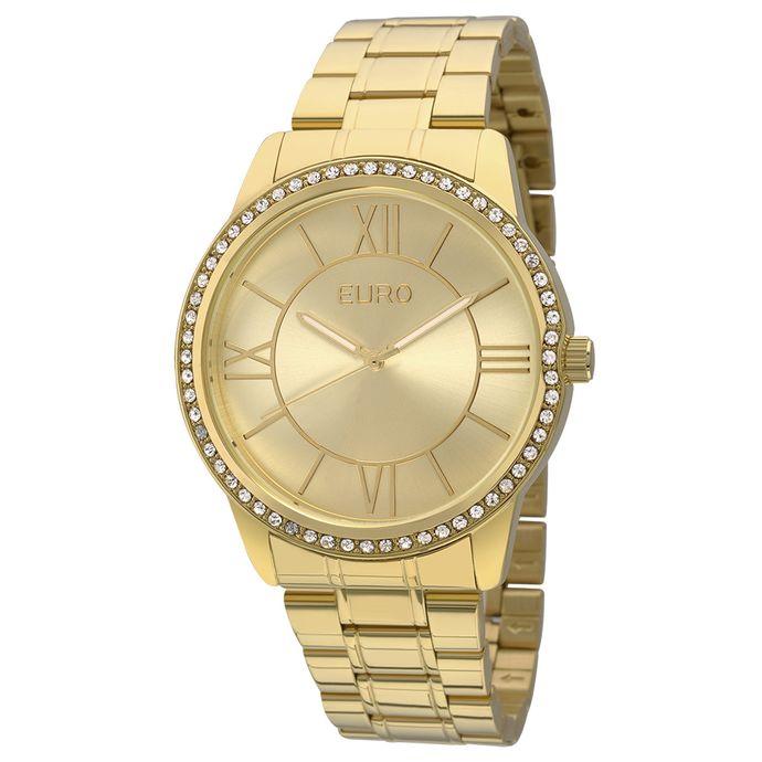 0004ff13f9d Relógio Euro Feminino Paint EU2035YEA 4D - Dourado