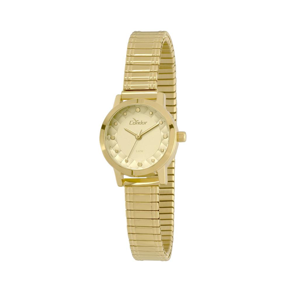 fe921715b23 Relógio Condor Feminino Mini CO2036KNX 4D - Dourado - timecenter