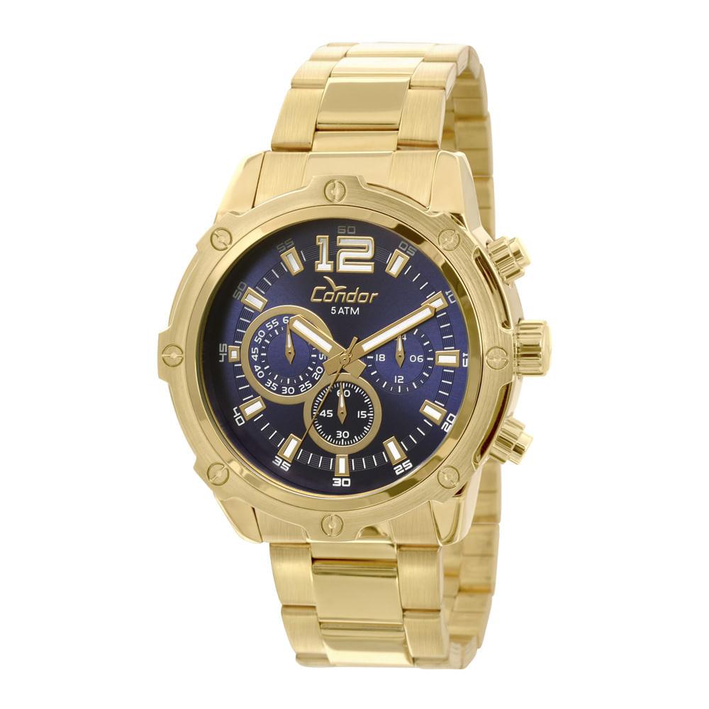 Relógio Condor Masculino Civic COVD54AE 4A - Dourado - condor fbf6951fec