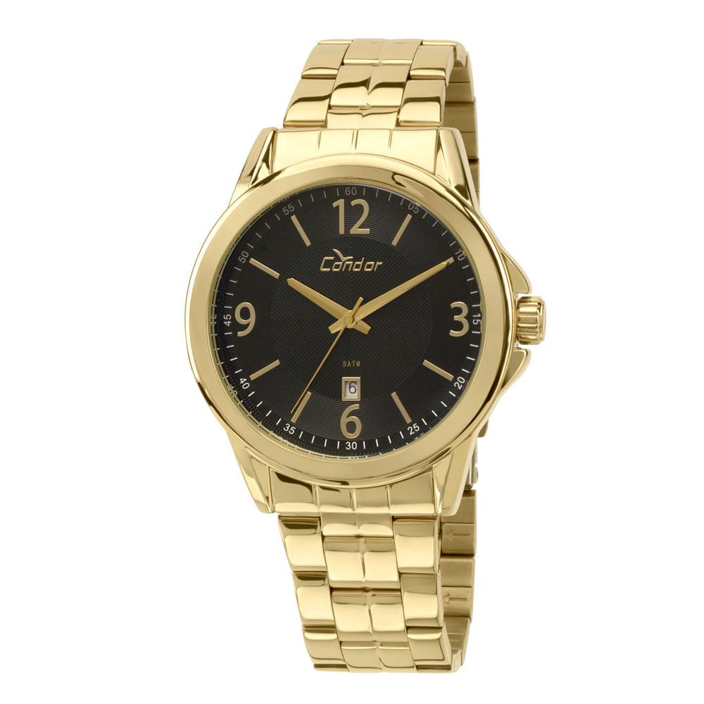 907894f51e1 Relógio Condor Masculino Casual CO2115VN 4P - Dourado - condor