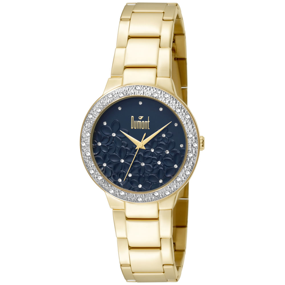Relógio Dumont Splendore DU2039LTU 4A Dourado - timecenter 360a7226e8