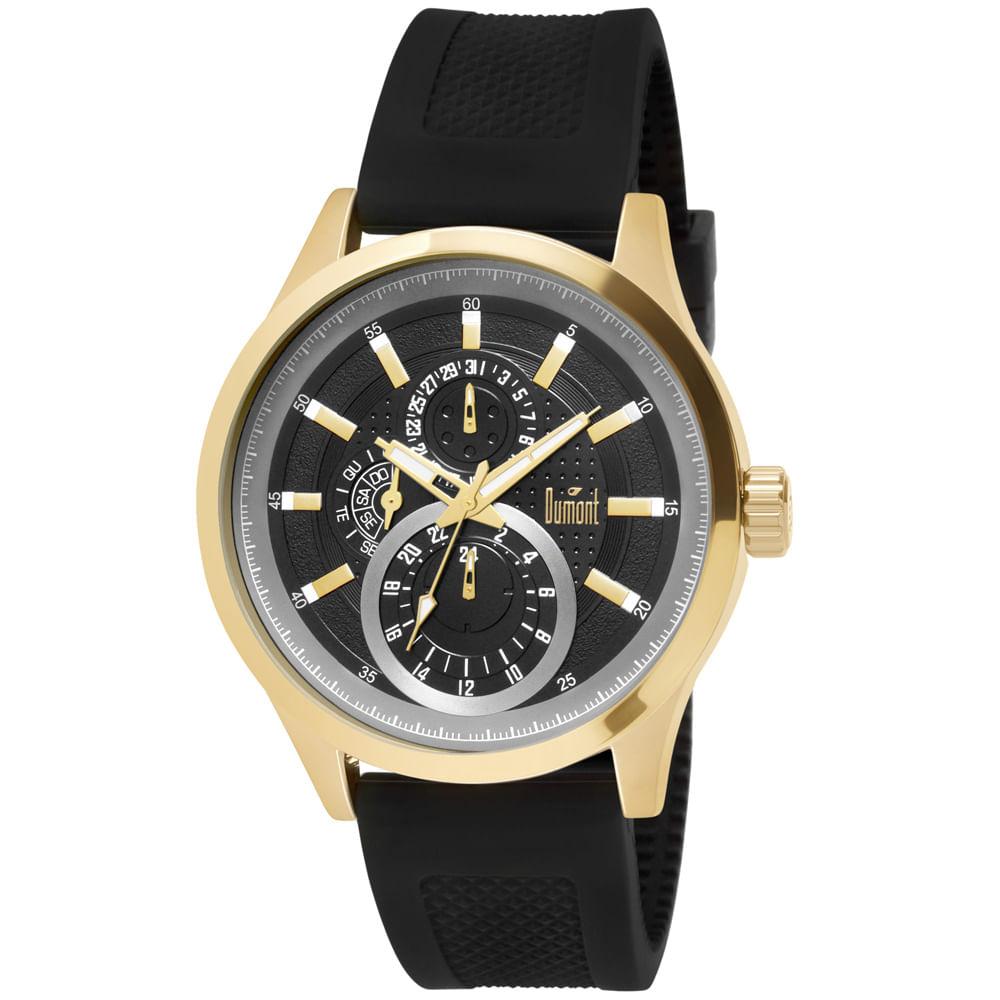 995222e673e Relógio Dumont Garbo DU6P27AI 8P Dourado - timecenter
