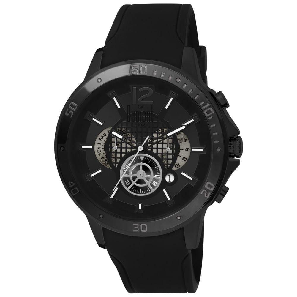 d1380ce40b7 Relógio Dumont Garbo DUJP25CAI 8P Preto - timecenter