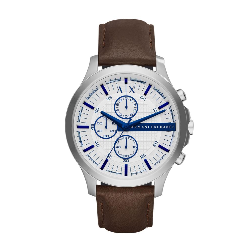 0a808c5080b Relógio Armani Exchange Masculino Hampton - AX2190 0KN - timecenter