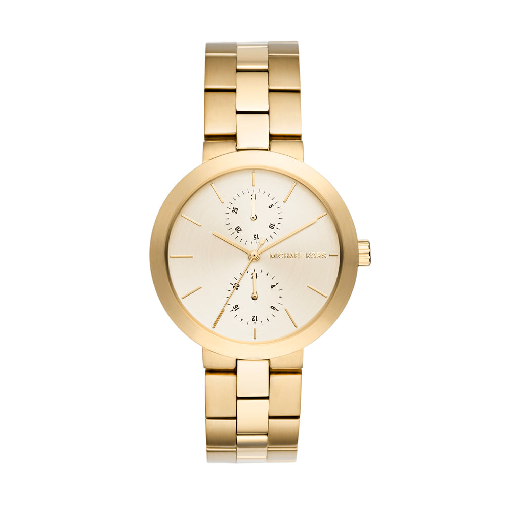 0c91ab62c3f56 Relógio Michael Kors feminino New Case - MK6408 4DN - timecenter