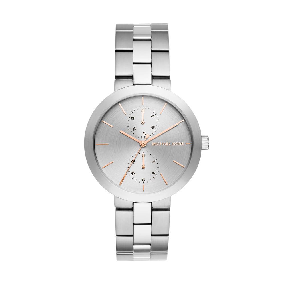 2980c9401f0de Relógio Michael Kors feminino New Case - MK6407 1CN - timecenter