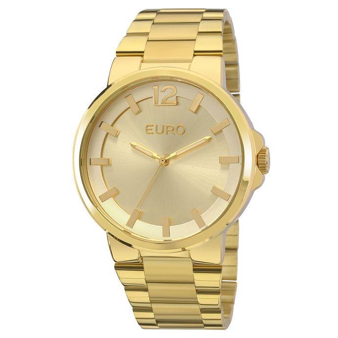 9c9e14ff865 Relógio Euro Feminino Colors EU2035YEE 4D - Dourado
