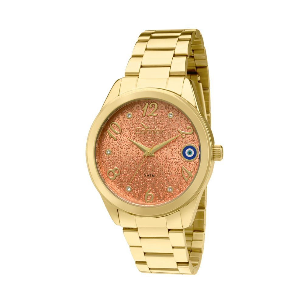 484cdcdfdae Relógio Condor Feminino Amuletos CO236KOM 4L - Dourado