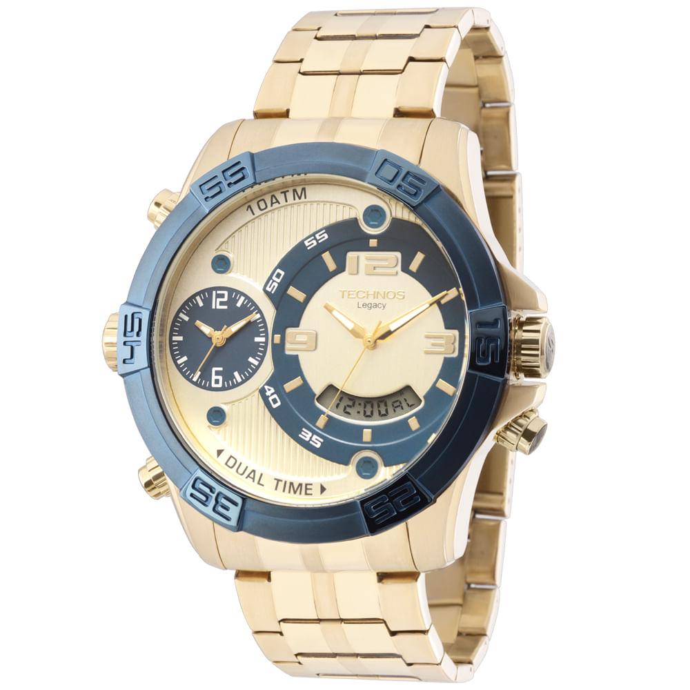 558d3756e641c Relógio Technos Masculino Legacy Analógico - T205FU 4X - timecenter