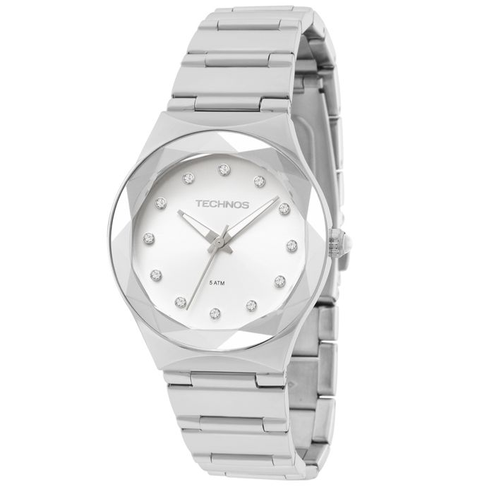 Relógio Technos Feminino Crystal Analógico - 2035MFJ 1K e45f60133e