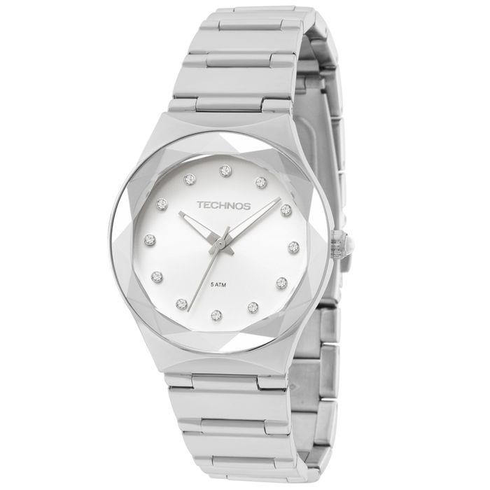 b7e197a296a Relógio Technos Feminino Crystal Analógico - 2035MFJ 1K - technos