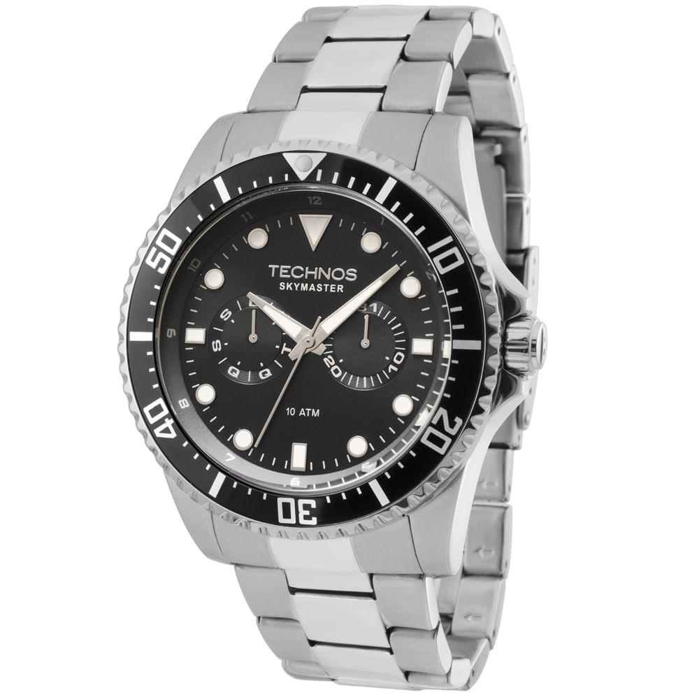 67c84589505dc Relógio Technos Masculino Skymaster Analógico - 6P25BG 1P - Tempo de ...
