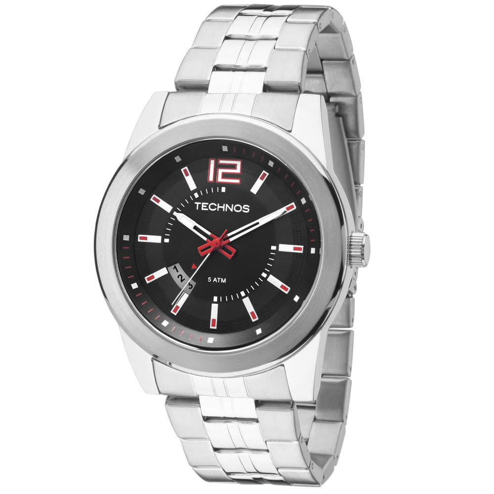 Relógio Technos Masculino Racer Analógico - 2115KSV 1R - Tempo de ... 053aec985b
