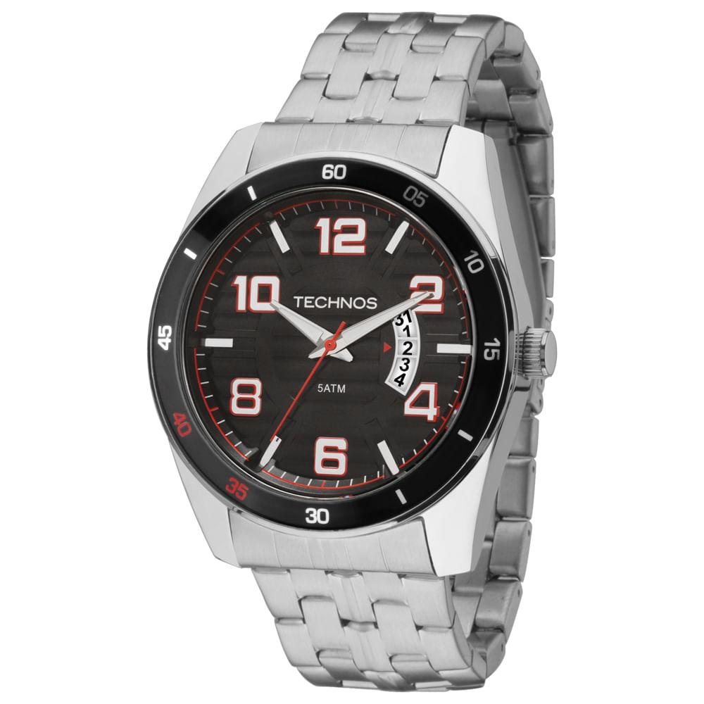 Relógio Technos Masculino Racer Analógico - 2115KSS 1P - timecenter 65855ccb0a