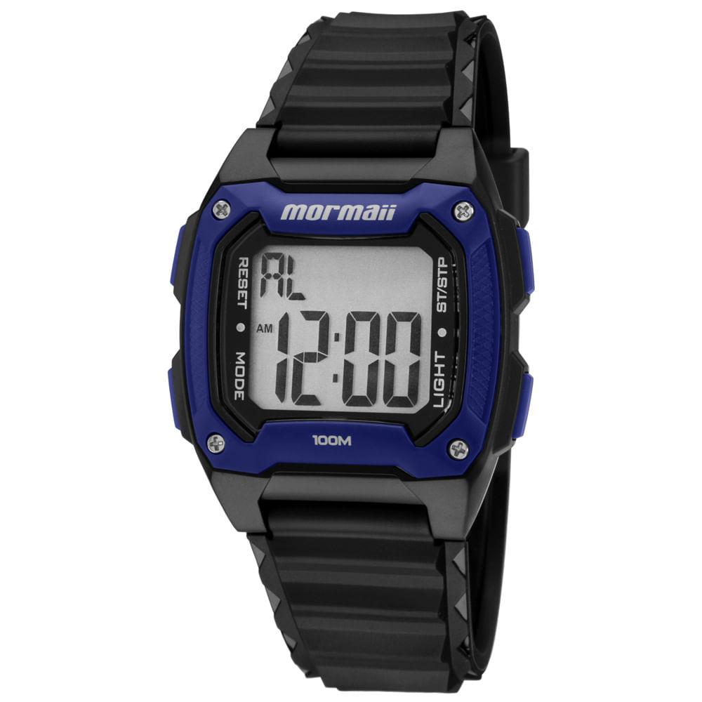 87b0b8deef5 Relógio Mormaii Wave MOY1516 8A Preta - timecenter