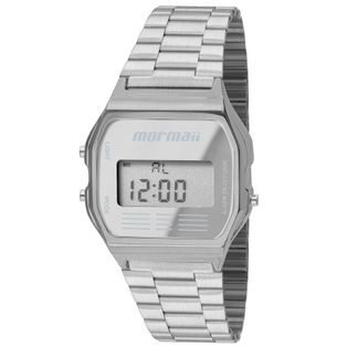 09218aa332a85 Relógio Mormaii Troca Pulseira Vintage Freestyle Prata - MOJH02AG 8K ...