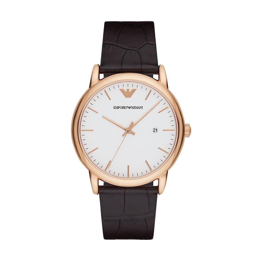 09d9810bd47 Relógio Emporio Armani Masculino Classic - AR2502 2BN - timecenter