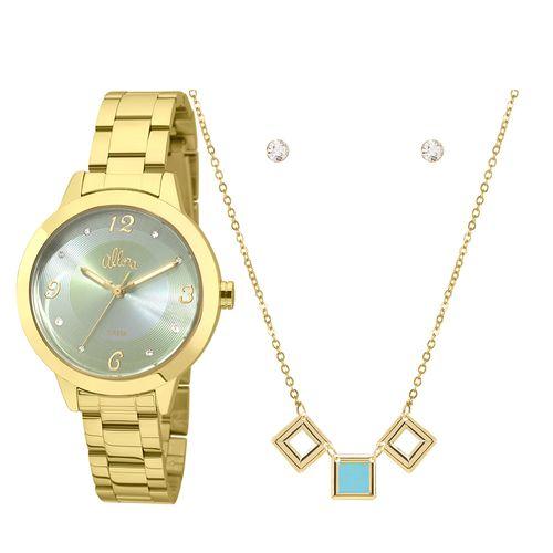 Relógio Allora Coleção Nó de Marinheiro AL2035FDQ K4A - Dourado ... c7ead61498