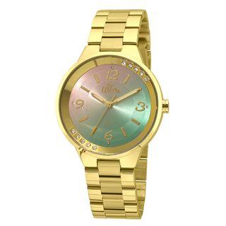 c83fe947dd4e9 Relógio Allora Feminino Candy Colors AL2035FHS 4T - Dourado
