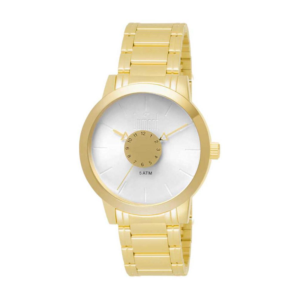 3a2e453d926 DU2036MFB4B. Dumont. Relógio Dumont Feminino Elements DU2036MFB 4B Dourado