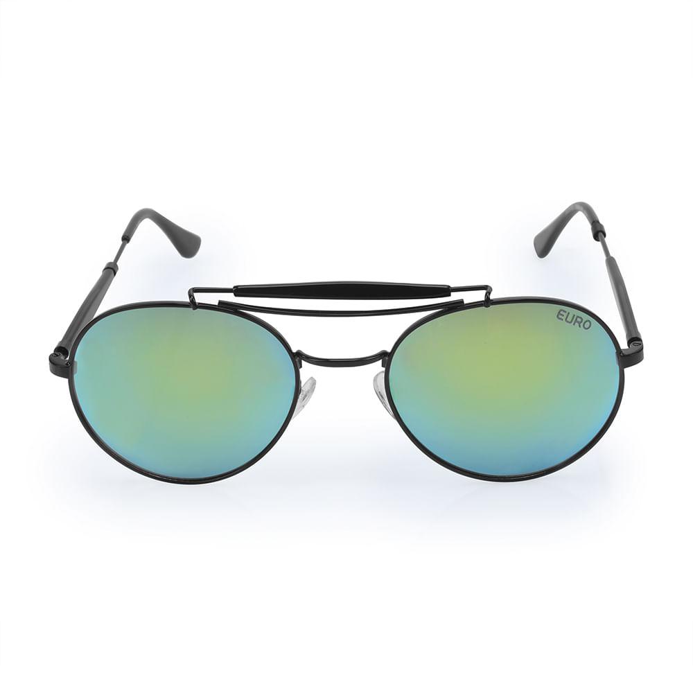 O Óculos de Sol Feminino Euro é um modelo com atitude. Faz parte da coleção  Redondos e tem seu diferencial no detalhe da ponte (ligação metálica entre  as ... de14c2358b