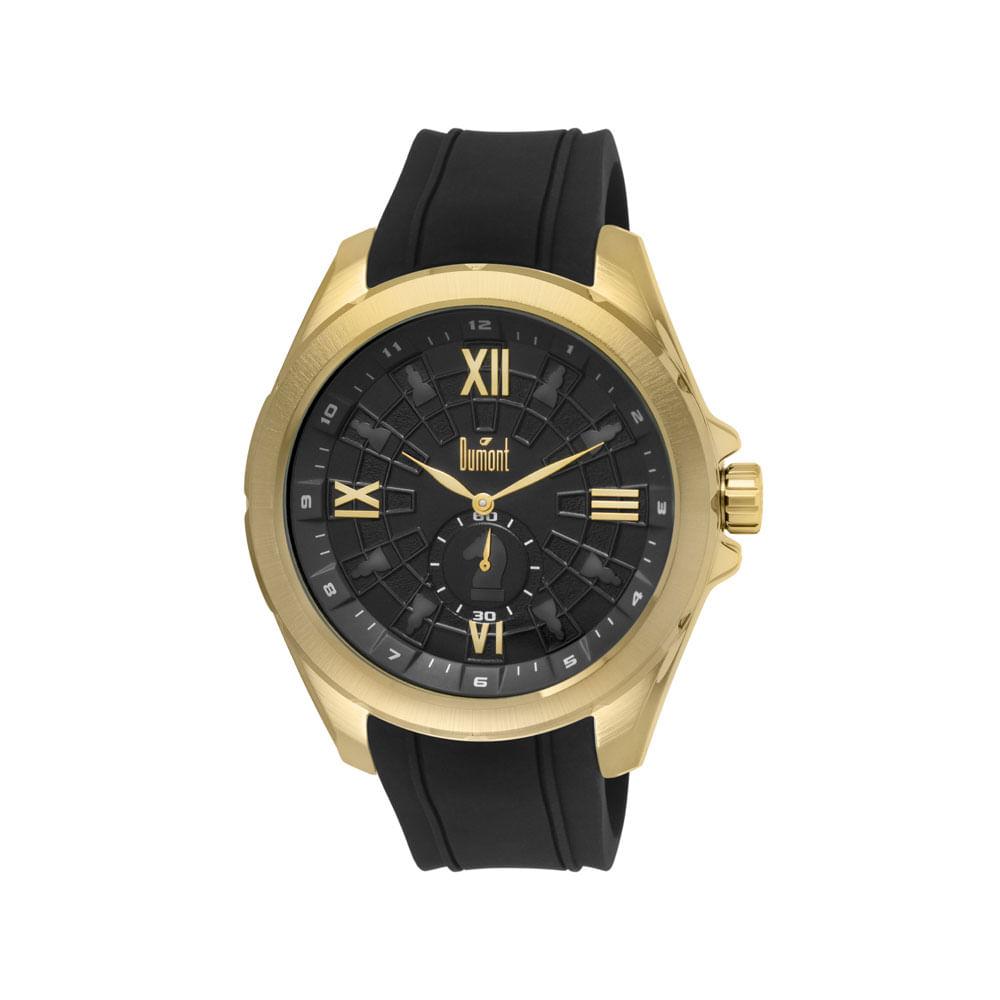 ce2cbad90e5 Relógio Dumont Garbo DU1L45AF 3P Dourado - timecenter