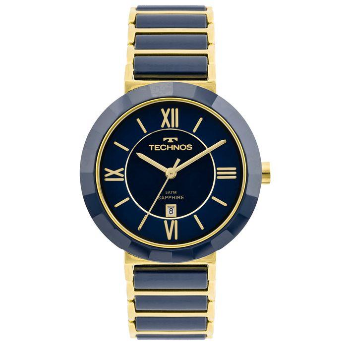 Relógio Technos Ceramic Feminino 2015CE 5A - technos 0d768b2291
