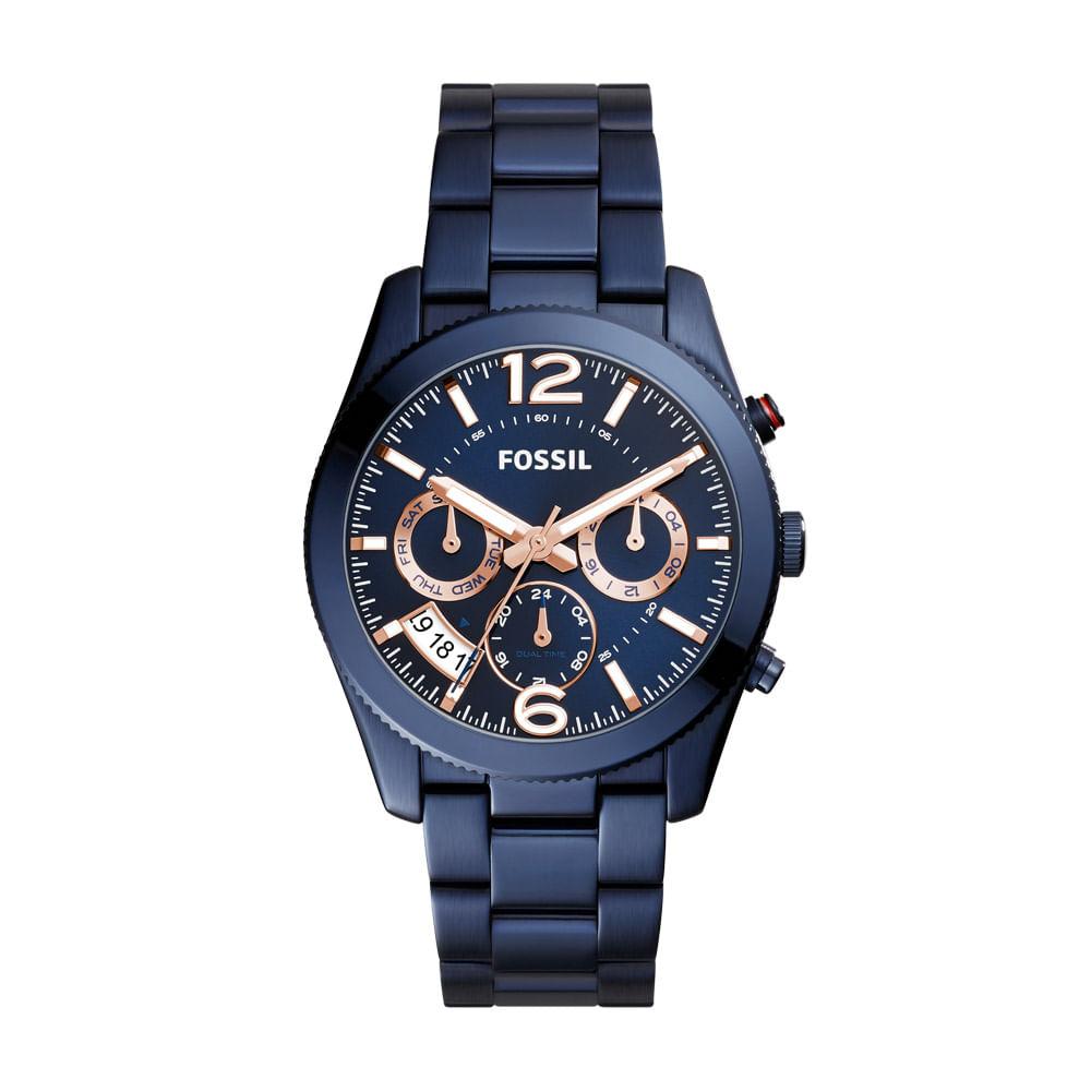3621cfe5665 Relógio Fossil Feminino Perfect Boyfriend - ES4093 4AN - timecenter