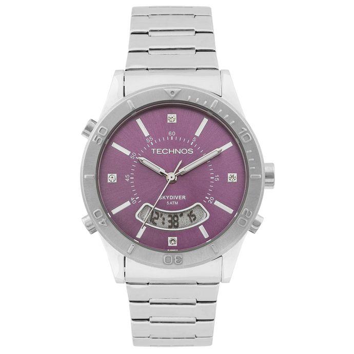 Relógio Technos Feminino Skydiver Analógico - T205FR 1G 9fc33cb04f
