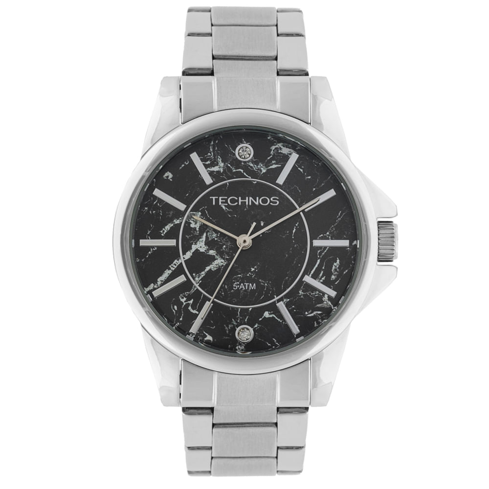 Relógio Technos Trend 2036MEN 1P Prata - timecenter bb590d6e9d