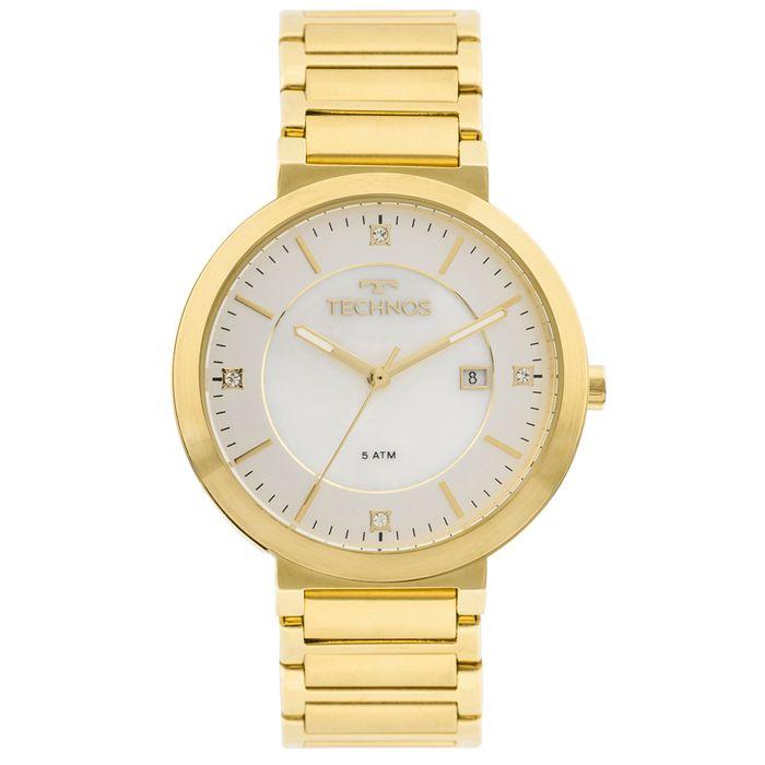 266ba48c296d8 Relógio Technos St.moritz 2115KTL 4B Dourado - technos