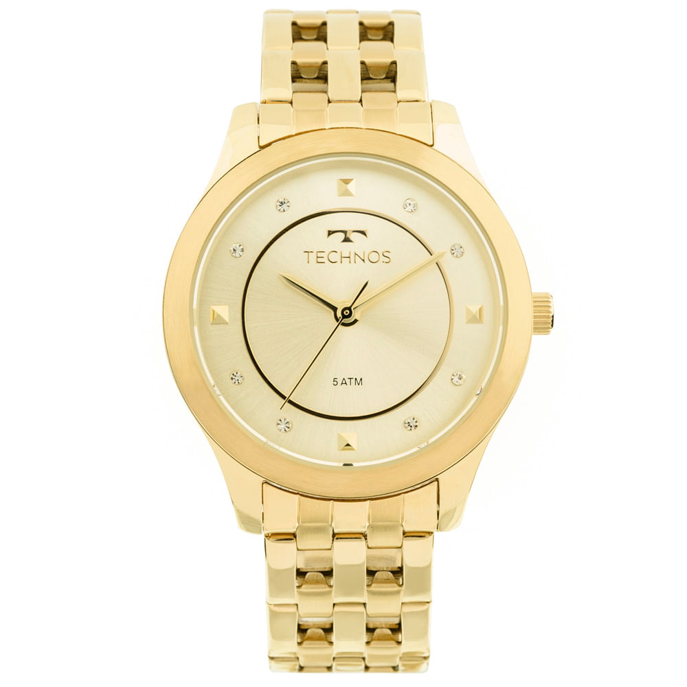 990b2780084 Relógio Technos Trend 2036MFB 4X Dourado - timecenter